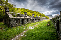 Dinorwic slate quarry llanberis anglesey barracks snowdonia north wales photo