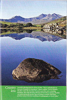 Snowdon reflection simon kitchin Countryman magazine Oct 2011