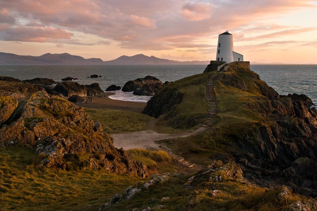 Llanddwyn Island photograph sunset Anglesey photo Newborough photographing north wales