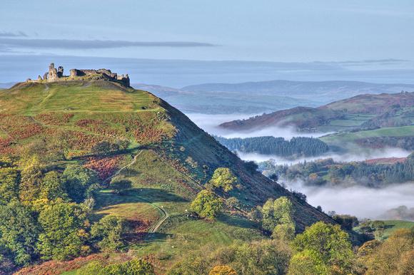 Castell Dinas Bran photograph, Llangollen, North Wales