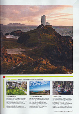 Anglesey Location Article Digital SLR Photography Magazine