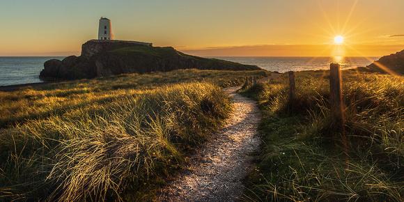 llanddwyn island summer sunset photo anglesey north wales countryfile
