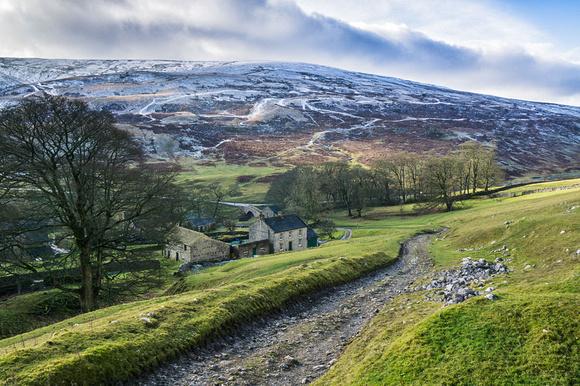 winter snow yorkshire dales photos yockenthwaite Langstrothdale valley