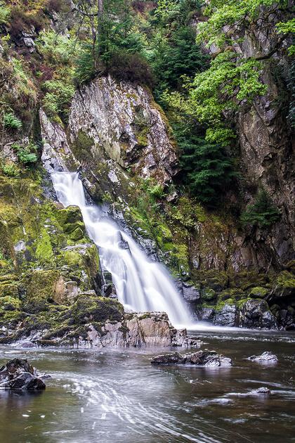 conwy falls betws-y-coed snowdonia photo