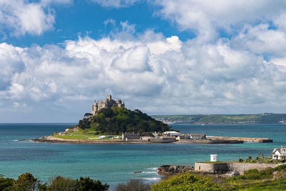 St Michaels Mount Penzance Cornwall photo