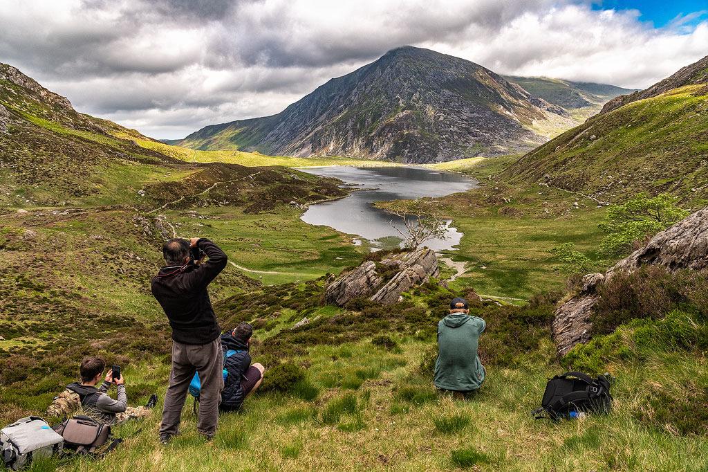 Cwm Idwal Snowdonia photography workshop by simon kitchin