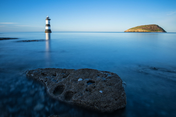 penmon point lighthouse anglesey north wales photo