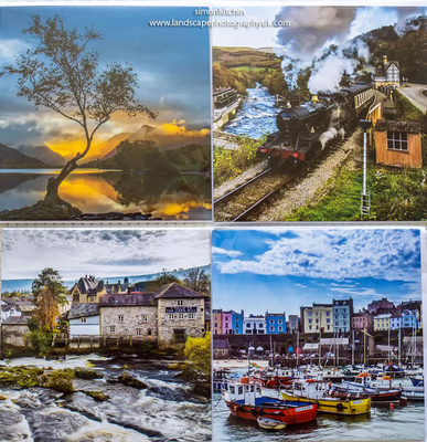 Postcards of Wales photography by simon kitchin