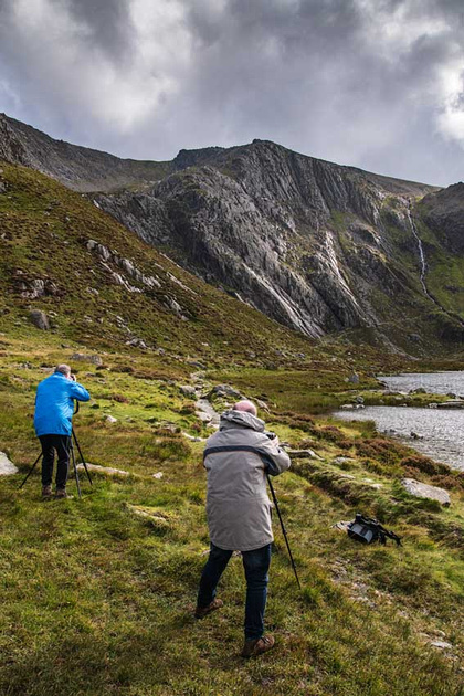 Snowdonia photography workshop cwm idwal north wales by simon kitchin