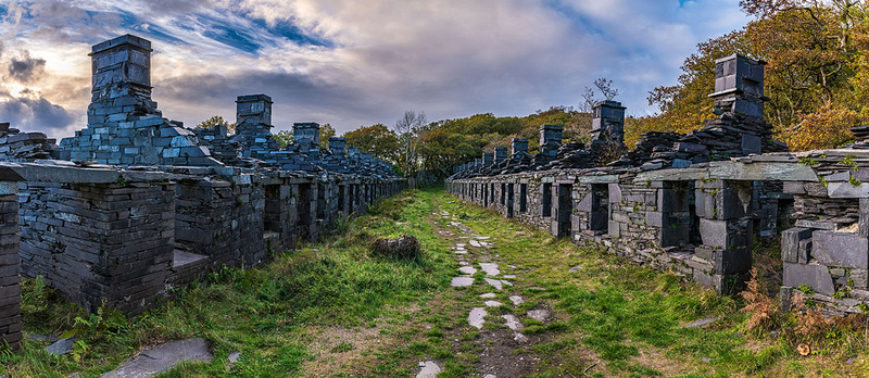 anglesey barracks dinorwic slate quarry llanberis snowdonia photo