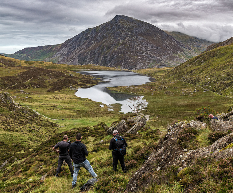 Snowdonia landscape photography workshops by simon kitchin author of Photographing North Wales