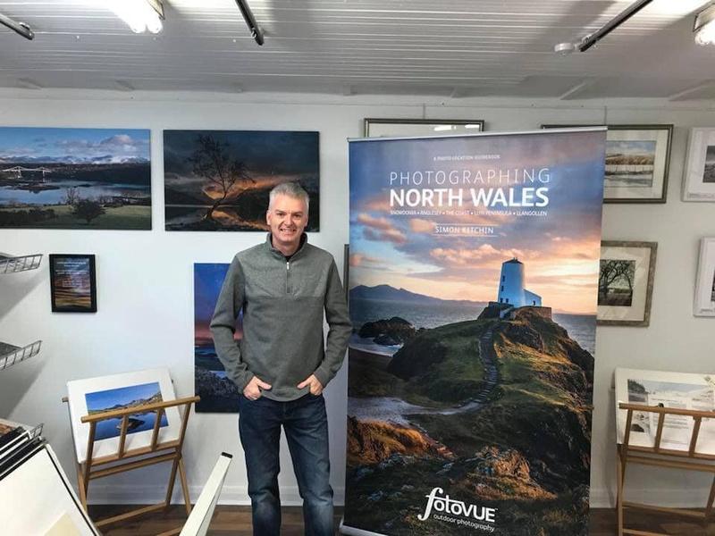 Simon Kitchin North Wales TV interview PG Framing Mold