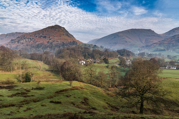 Helm Crag near Grasmere in the Lake District