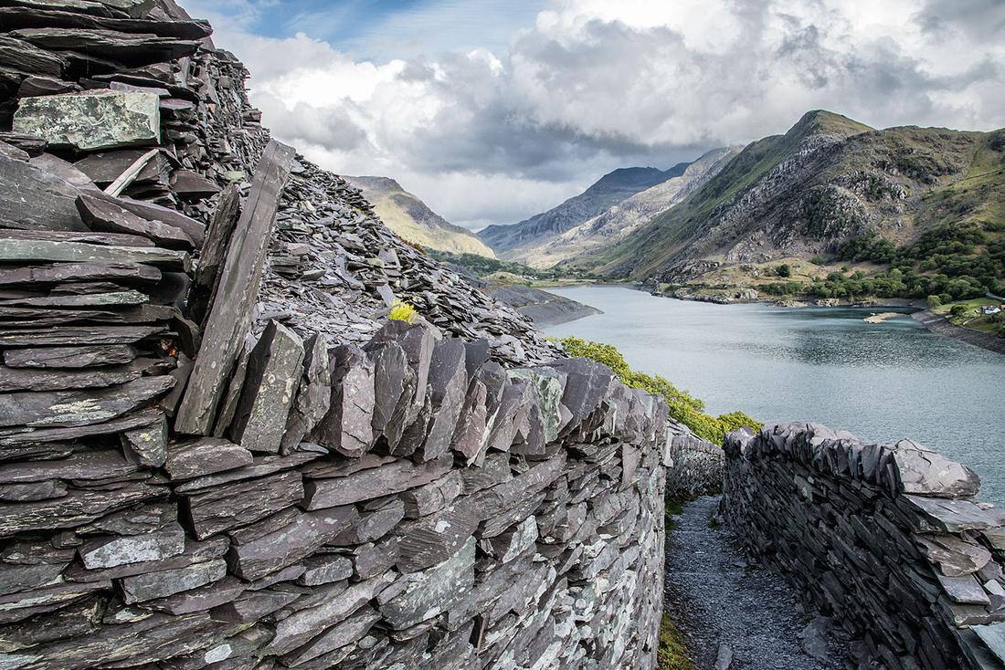 Llanberis photography workshop Snowdonia North Wales Dinorwic Quarry