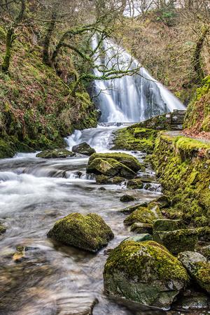 snowdonia photography workshop llanberis waterfall