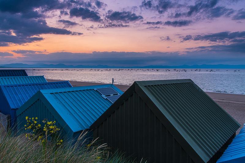 Abersoch beach sunrise photo