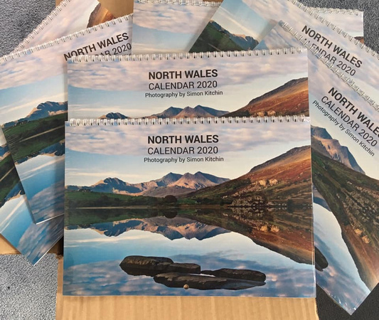 North Wales calendar 2020 by North Wales photographer simon kitchin