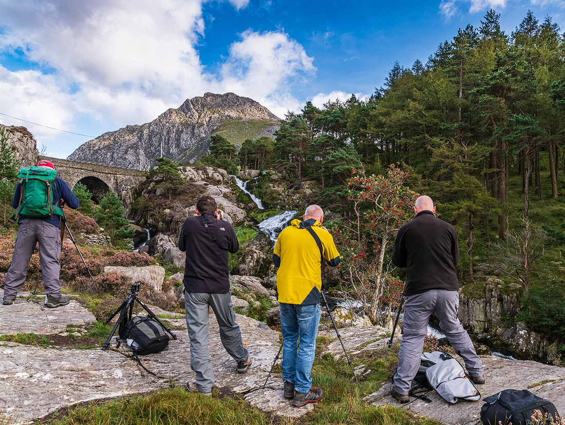 Snowdonia photography workshop at Cwm Idwal by local photographer Simon Kitchin