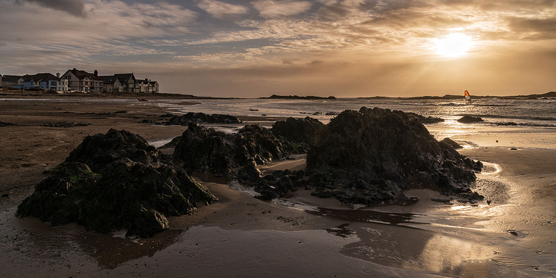 Rhosneigr sunset Isle of Anglesey North Wales