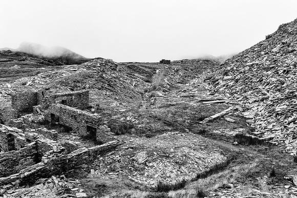 rhosydd slate quarry blaenau ffestiniog north wales