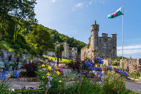 Gwrych Castle North Wales Im a Celebrity 2020 home