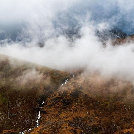 crib goch cloud inversion snowdonia nant gwynant