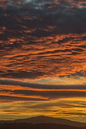moel famau sunset photo clwydian hills north east wales