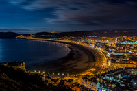 llandudno photo evening light night great orme town north wales photographs