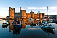 Caernarfon castle photograph North Wales