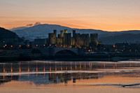 Conwy Castle photo North Wales
