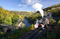 Thomas the Tank engine Llangollen photograph