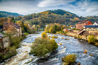 river dee llangollen photo north wales