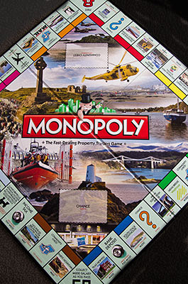Isle of Anglesey Monopoly Board