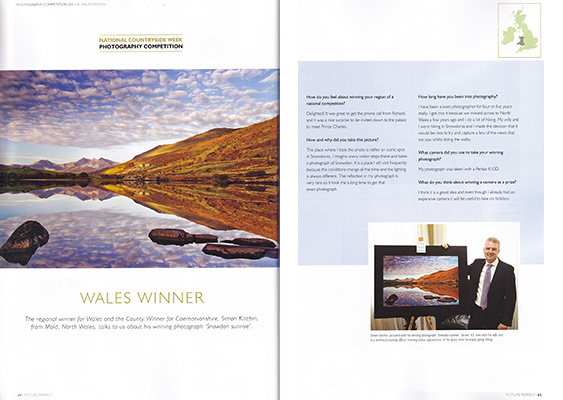 Simon Kitchin Regional Winner Wales National Countryside Photography Competition