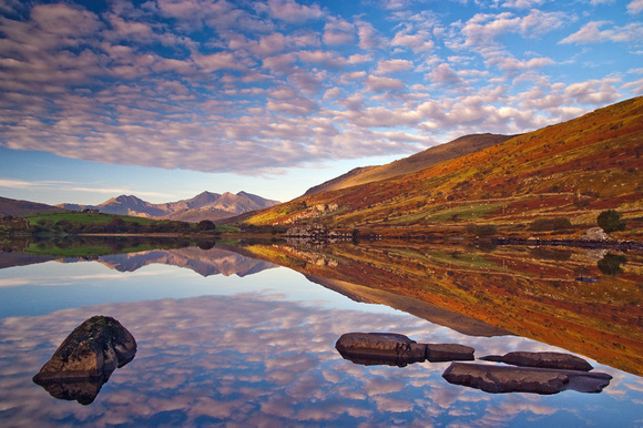 Snowdonia Photographs: Snowdon sunrise photograph