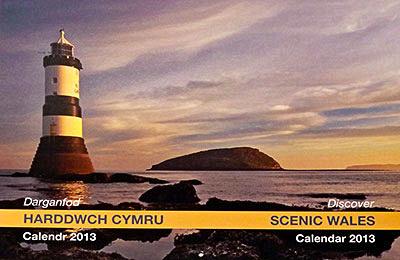Penmon sunrise photograph Discover wales calendar 2013