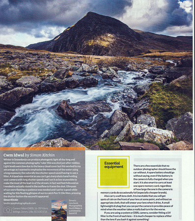 Great Outdoors Magazine Cwm Idwal photo