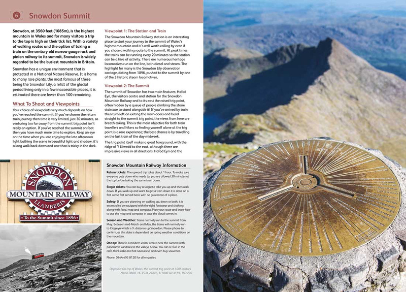 photographing north wales photo location guide book simon kitchin