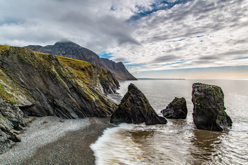 trefor sea stacks wales coastal path llyn peninsula photos