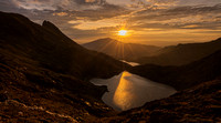 Snowdon sunrise from the Pyg Track