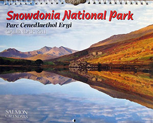 Snowdonia National Park calendar 2011 Simon Kitchin