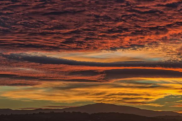 moel famau sunset clwydian hills jubilee tower stunning north wales photo