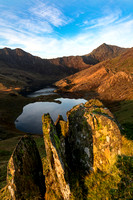 snowdon horseshoe sunrise photo pyg track snowdonia autumn