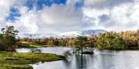 tarn hows photo lake district autumn snow mountains