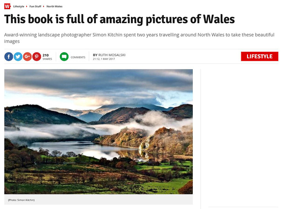 Photographing North Wales article on Wales Online