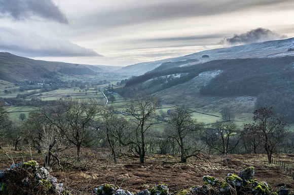 yorkshire dales wharfedale photo national park walk snow winter hills