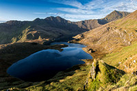 snowdon horseshoe photo sunrise pyg track snowdonia north wales